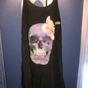 Wildfox swim cover-up dress tank shirt tunic top